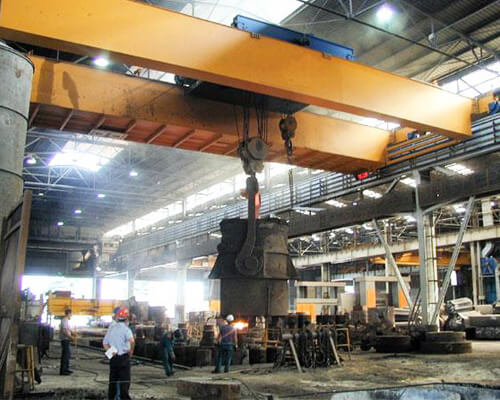 Foundry Crane Supplier