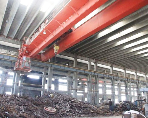 Overhead Crane for Handling Scrap Metals