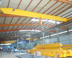 Single Girder 3 Ton Overhead Crane