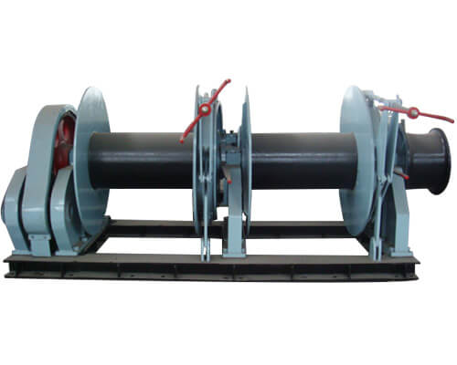 Electric Double Drum Winch Price