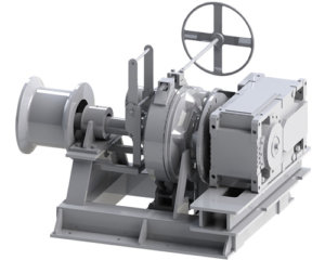 Single Gypsy Electric Anchor Winch