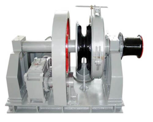 Single Gypsy Winch for Boats