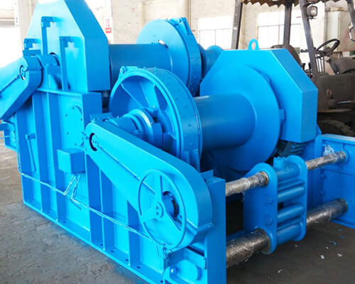 Waterfall Type Double Drum Winch