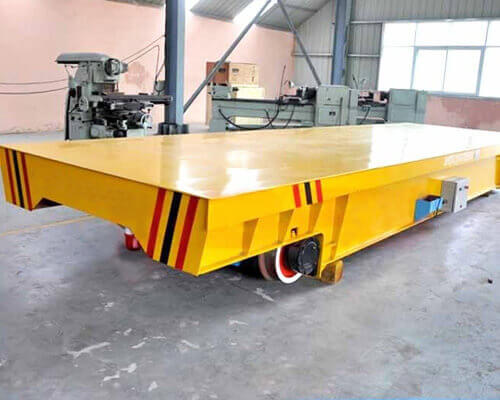 45T Cable Reel Powered Transfer Trolley