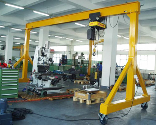 Small Portable Gantry Crane Price