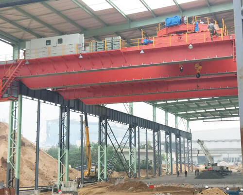Magnetic Overhead Crane With Carrier Beam