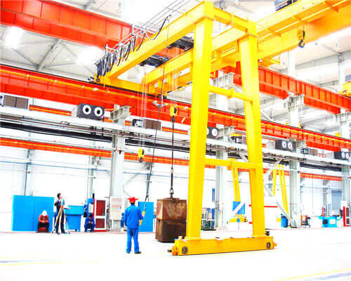 European Style Semi Gantry Crane for Sale