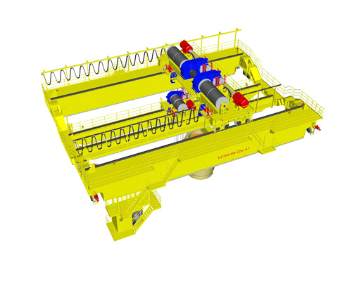 Foundry Overhead Crane Manufacturer