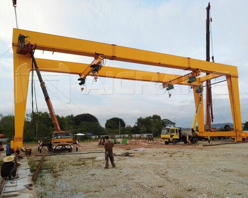 40t double girder gantry crane