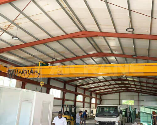 AQ-LH Double Girder Bridge Crane Manufacturer
