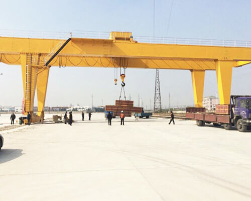 U Type Double Girder Gantry Crane Manufacturer