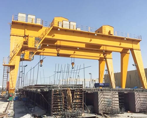 Double Girder Gantry Crane 20 Ton Price