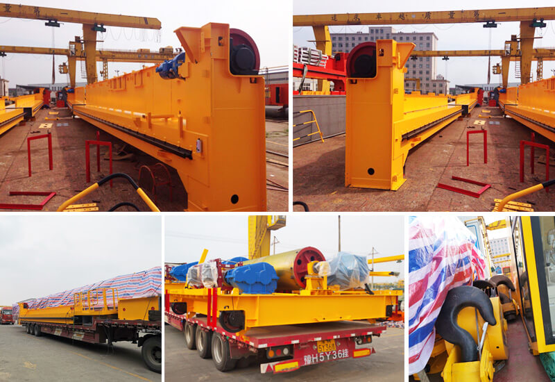 Double Girder Overhead Crane Shipped To Uzbekistan