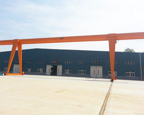 Single Girder 20 Ton Gantry Crane For Sale