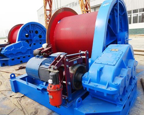20 Ton Construction Winch