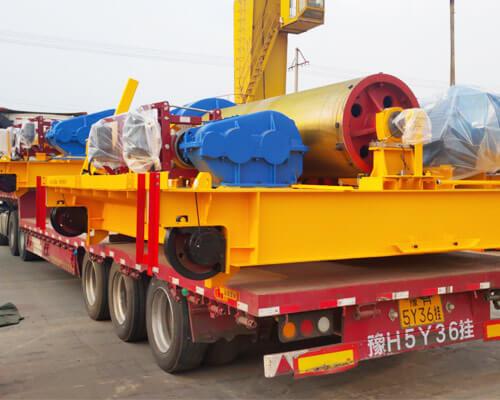 AQ-QD 32 Ton Overhead Crane Shipped To Uzbekistan