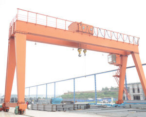 15 Ton Double Girder Gantry Crane For Sale