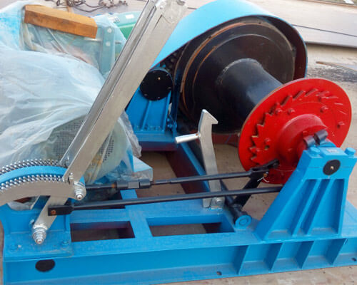 Electric Piling Winch For Sale