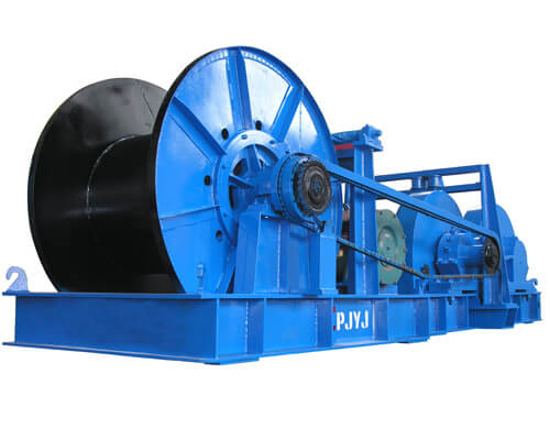 Friction Winch For Construction