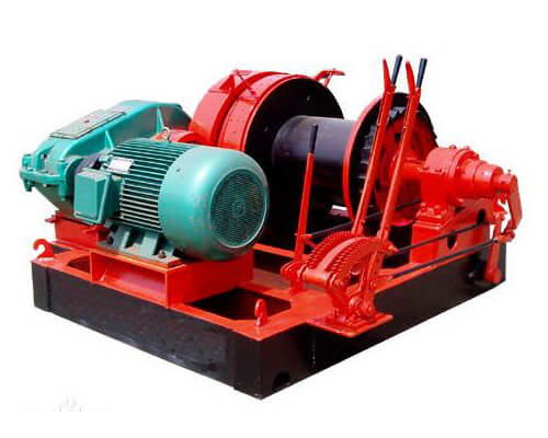 Construction Piling Winch