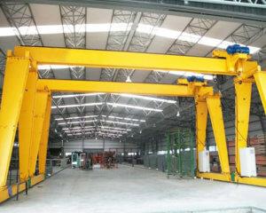 Single Girder Indoor Gantry Crane For Sale