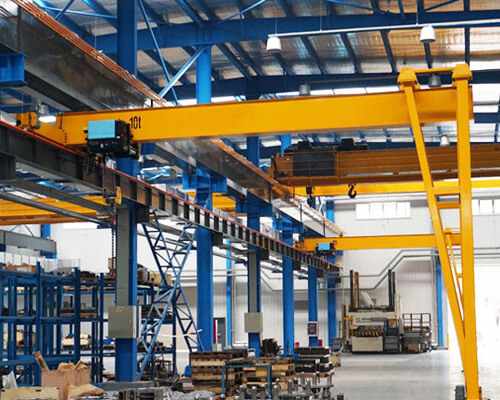 Single Girder Semi Gantry Crane Cost