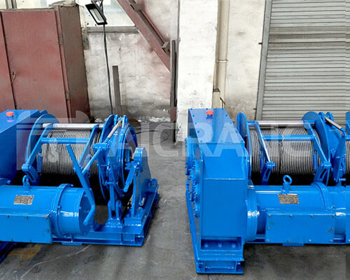 5 Ton Electric Winches For Marine