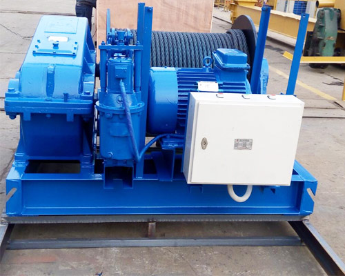 Slow Speed 10 Ton Electric Winch For Sale