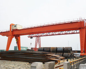 Double Girder Gantry Crane For Outdoor Application