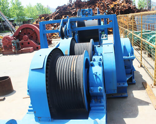 Electric Friction Winch For Sale