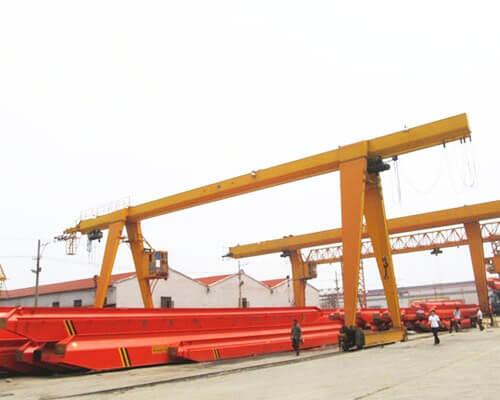 Single Girder Outdoor Gantry Crane Manufacturer