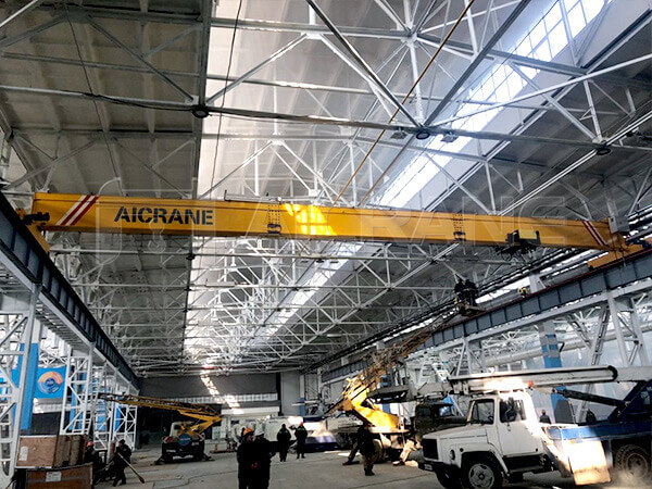 10 ton single girder overhead crane