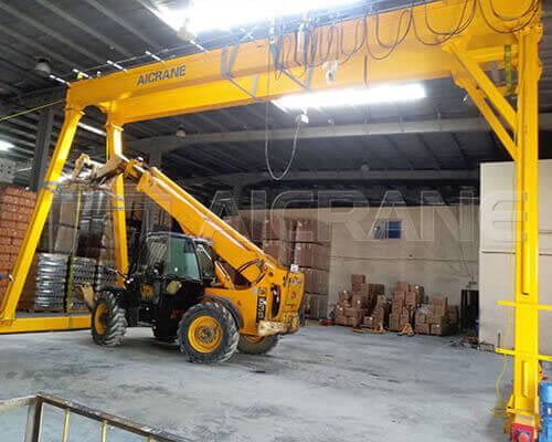 5t Hoist Gantry Crane Installation