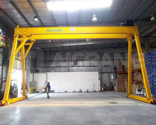 5 Ton Double Girder Gantry Crane Price