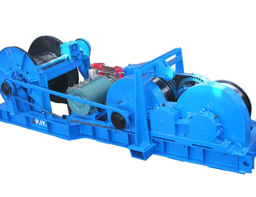 Friction Type Electric Winch Supplier