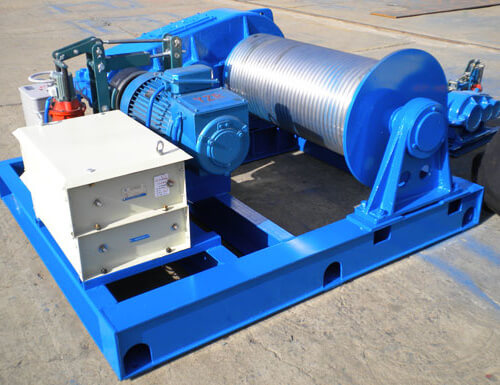 High Speed Electric Winch for Sale