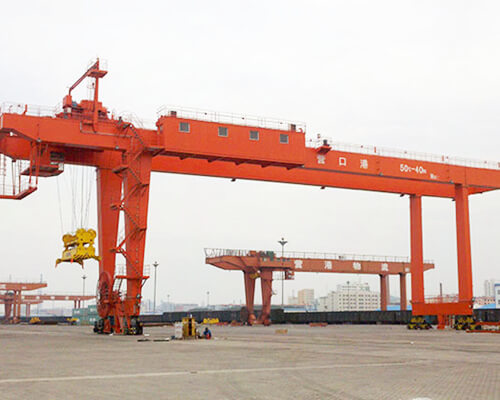 Rail Mounted Container Gantry Crane for Sale