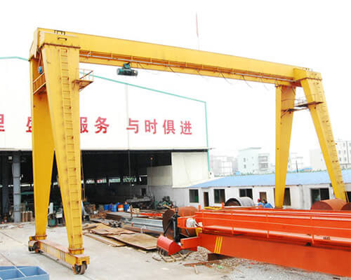 Single Girder Light Duty Gantry Crane