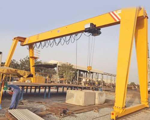 Single Girder Hoist Gantry Crane Supplier