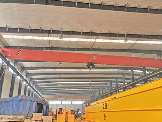 Single Girder Material Handling Overhead Crane