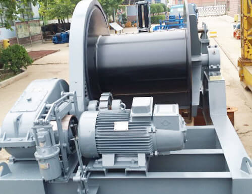 Slow Speed 50 Ton Electric Winch For Sale