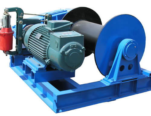 Slow Speed Electric Winch 15 Ton