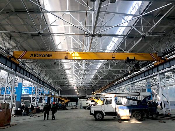 10 Ton Overhead Crane in Uzbekistan