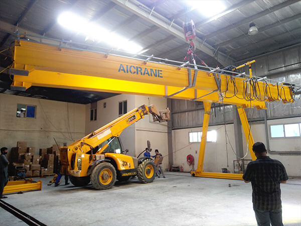 5 Ton Hoist Gantry Crane Installation