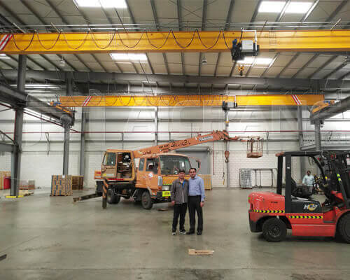 European Type Single Girder Overhead Crane