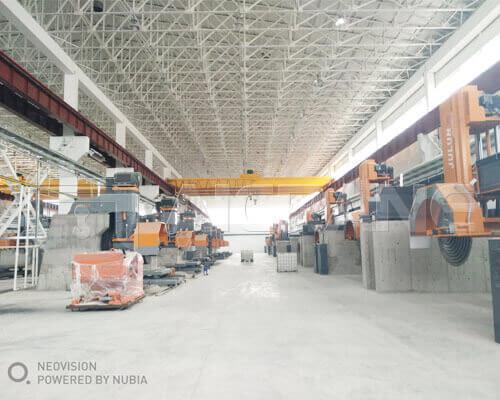 AQ-LH 20 Ton Overhead Crane In Uzbekistan