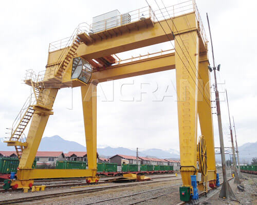 Double Girder A Frame Gantry Crane Manufacturer