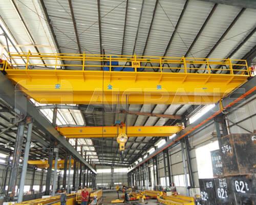 Industrial Double Girder Overhead Crane Manufacturer
