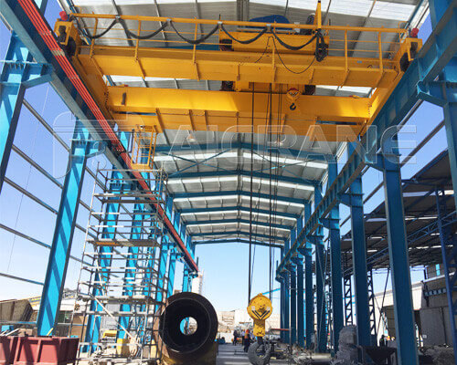 Double Girder Overhead Travelling Crane Price