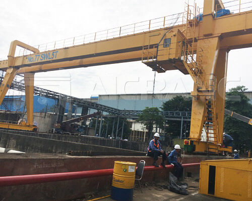 Double Girder Gantry Crane 5 Ton